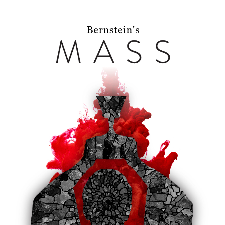 Abstract image with the words Bernstein's Mass appearing.