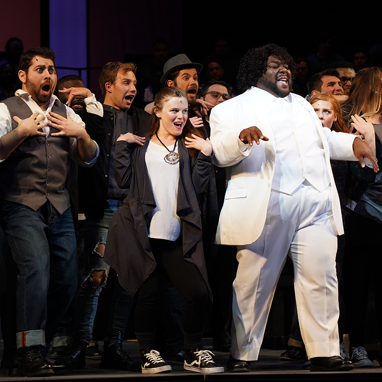 Bernstein's Mass: Productions: Opera and Ballet Theater